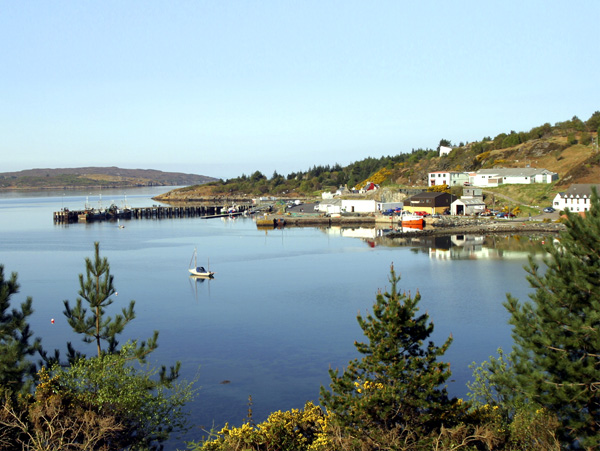 Creag Hastin In Gairloch Gairloch Is A Quiet Coastal