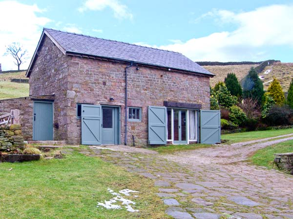 holiday let Buxton The Barn at Goosetree Farm