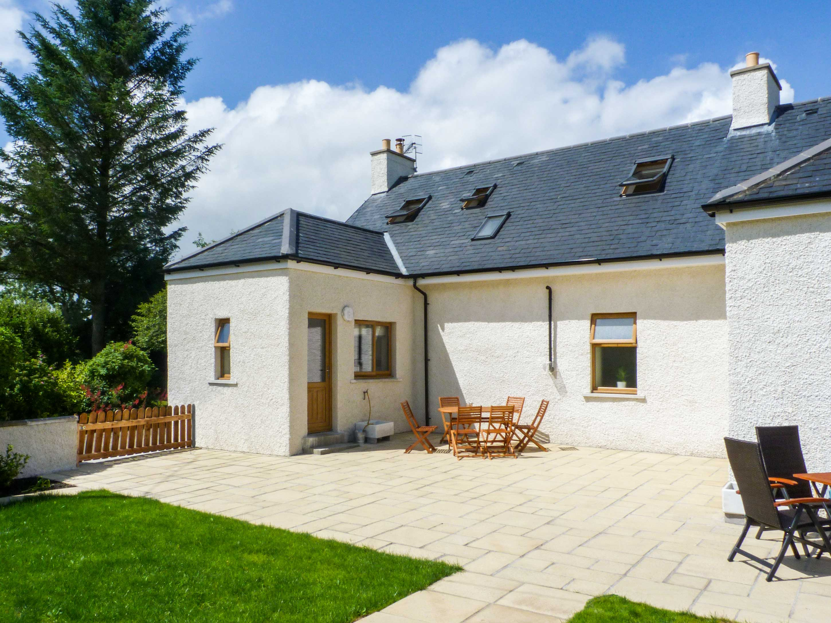holiday let Creetown Gled Cottage