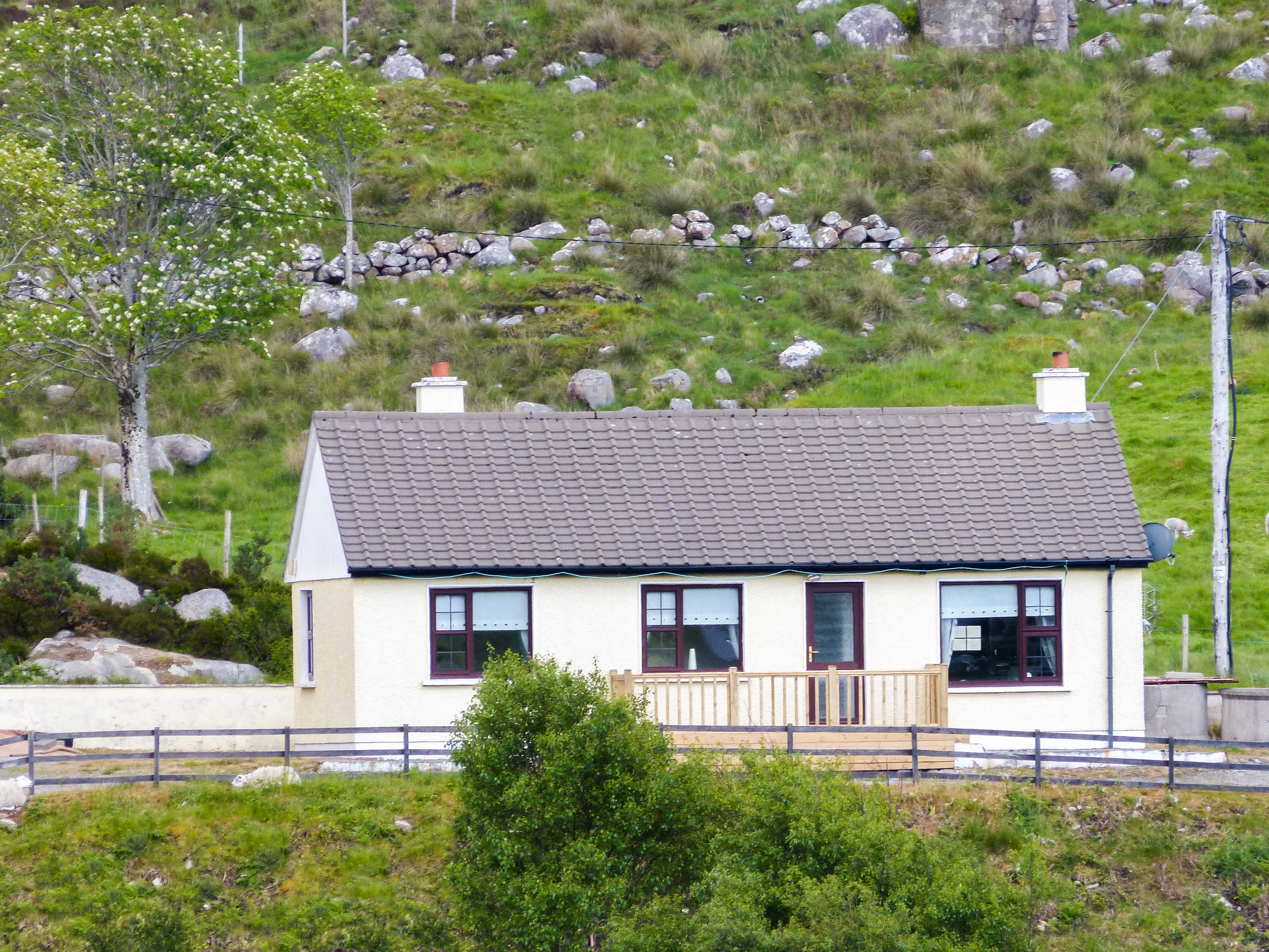 holiday let Doochary, County Donegal River View Cottage