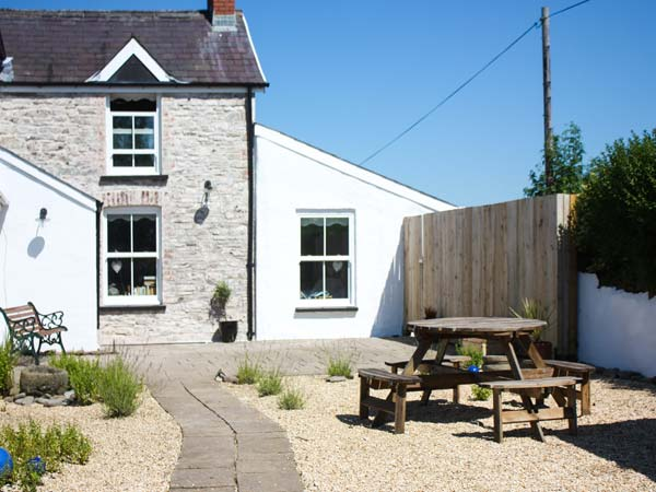 holiday let Llansteffan The Den