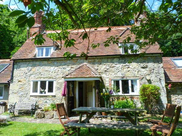 holiday let Ventnor Lisle Combe Cottage