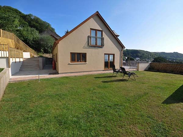 holiday let Pendine Clear View