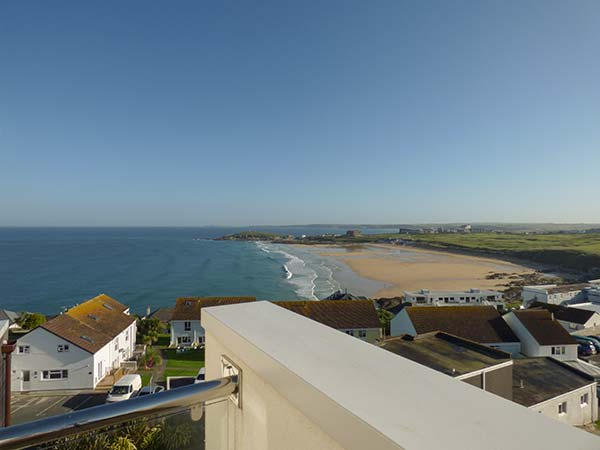 holiday let Newquay Penthouse Flat, Pentire Point