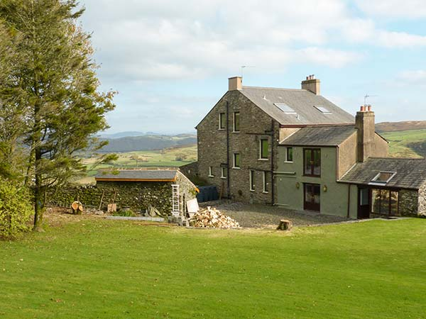 holiday let Ulverston Groffa Crag Farmhouse