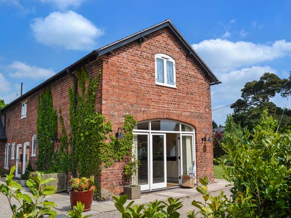 holiday let Ellesmere Boughey's Barn