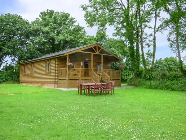holiday let Great Torrington Tarka's Holt Log Cabin