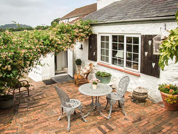 holiday let Ruardean Little Marstow Farm Cottage