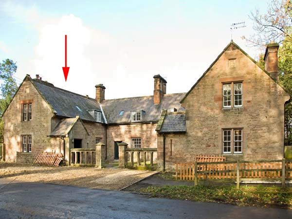 holiday let Chatton Gardener's Cottage