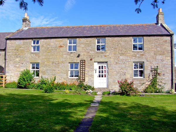 holiday let Glanton North Field Farmhouse