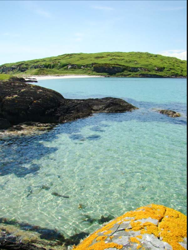Beach View Cottage In Isle Of Gigha This Semi Detached