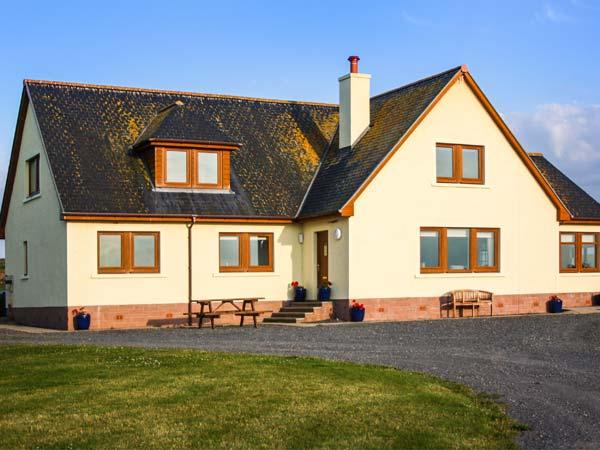holiday let Kirkcolm Corsewall Castle Farm Lodges