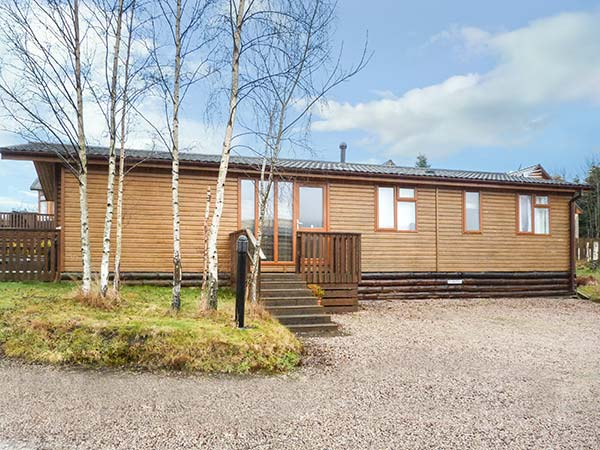 holiday let Banchory Silver Birch Lodge