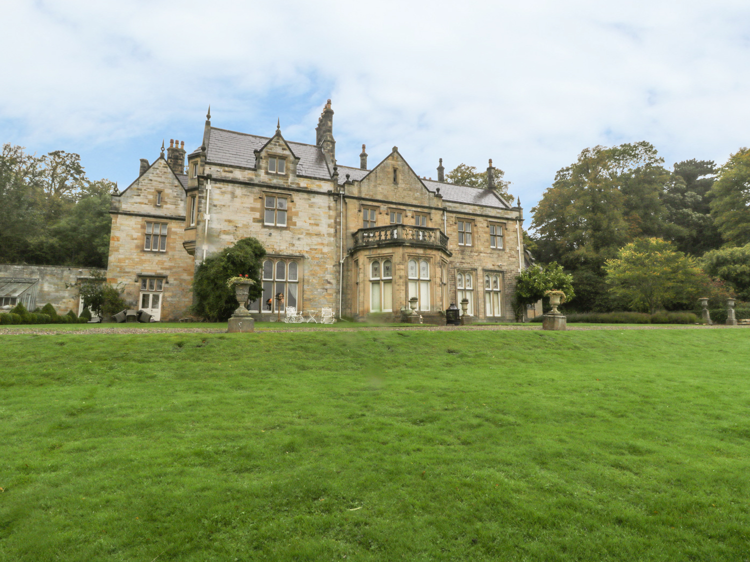 The North Wing at Sandhoe Hall