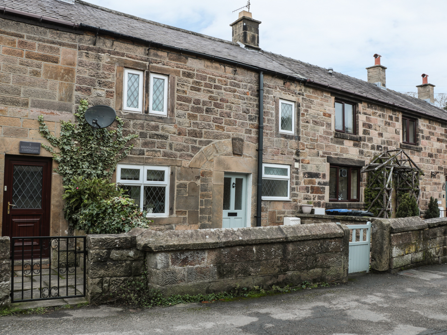 3 brookside cottages in two dales a mid terrace stone