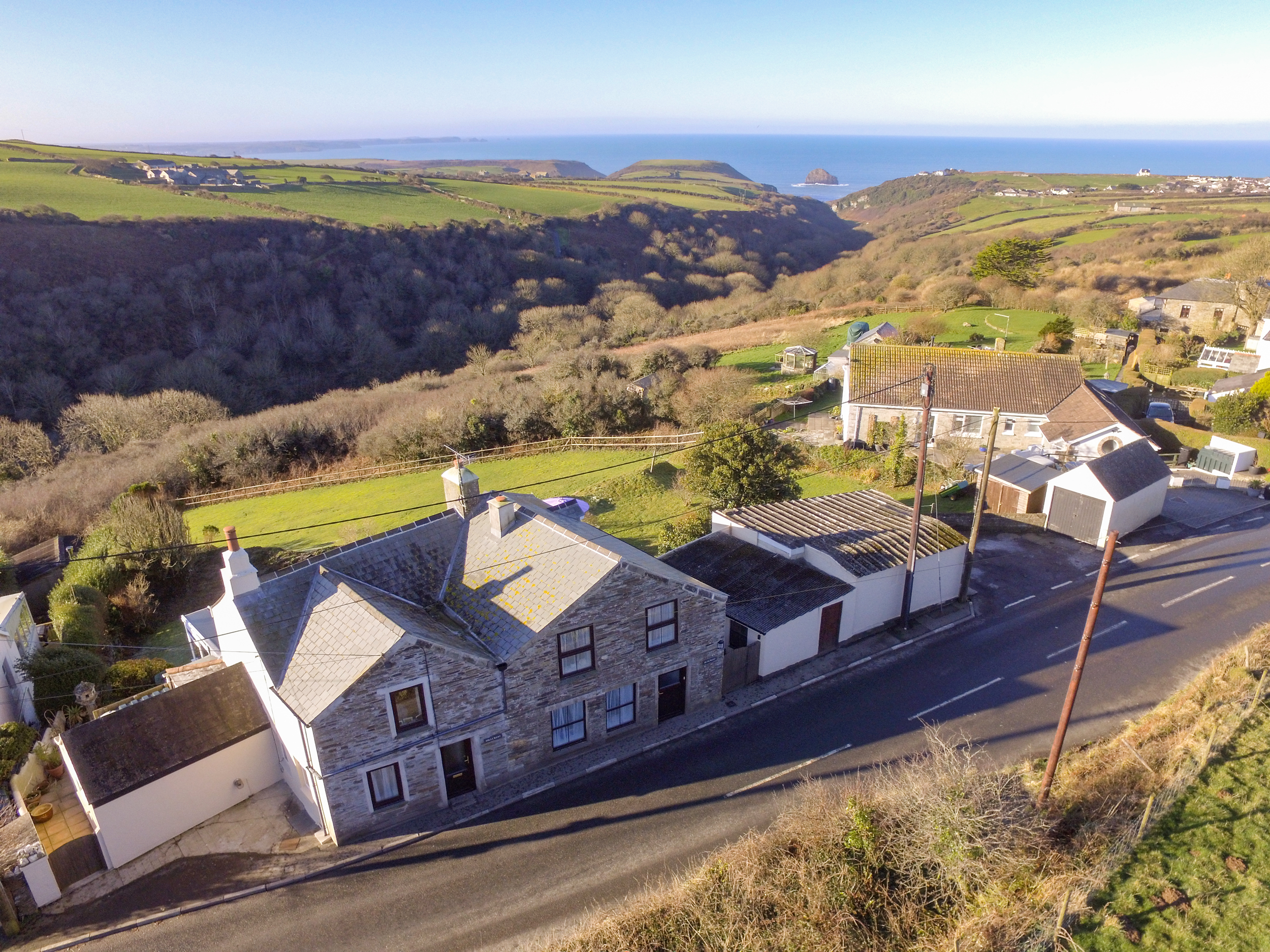 2 bedroom Cottage for rent in Tintagel