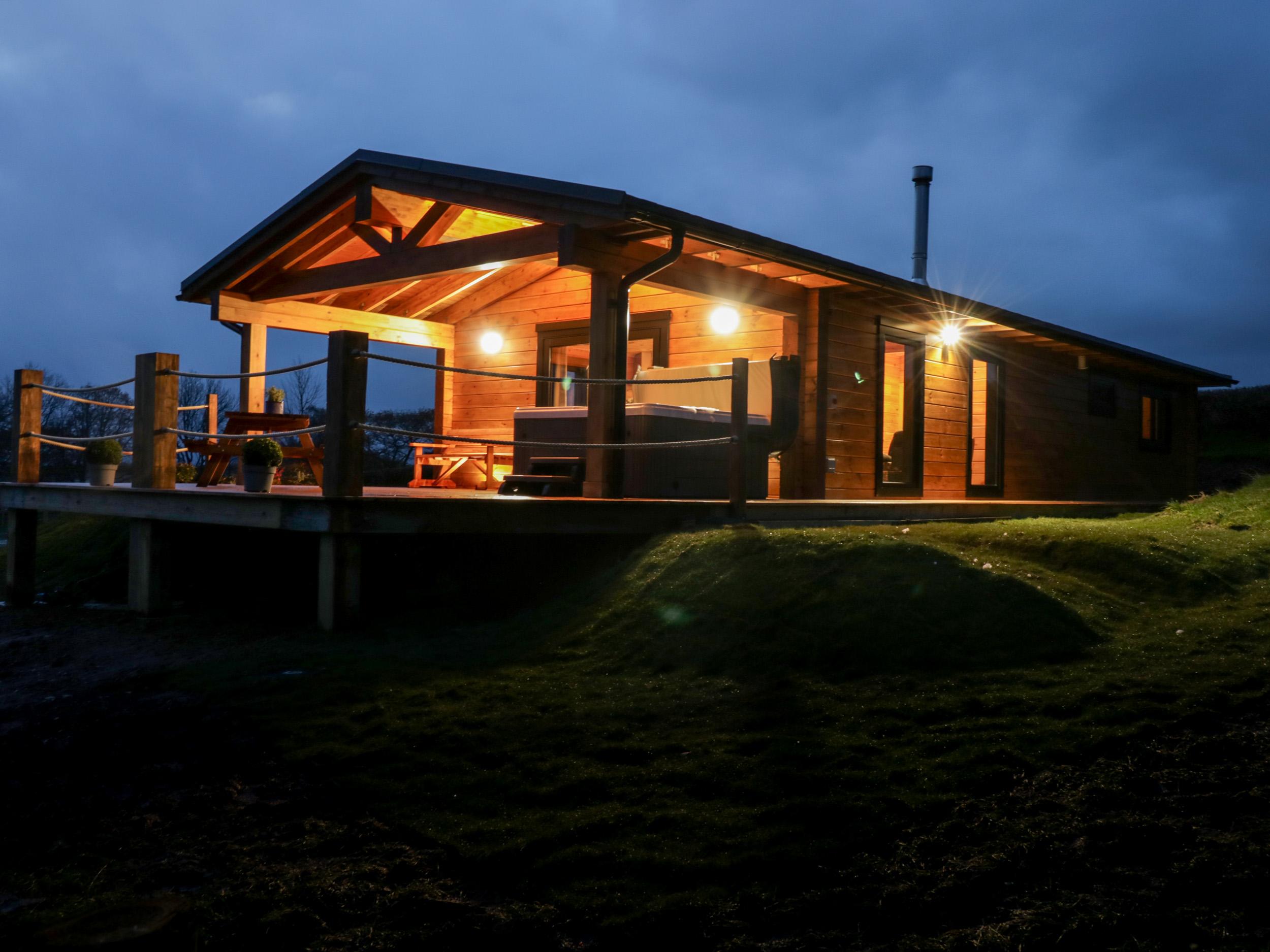 Bryn Eiddon Log Cabin, Mid Wales