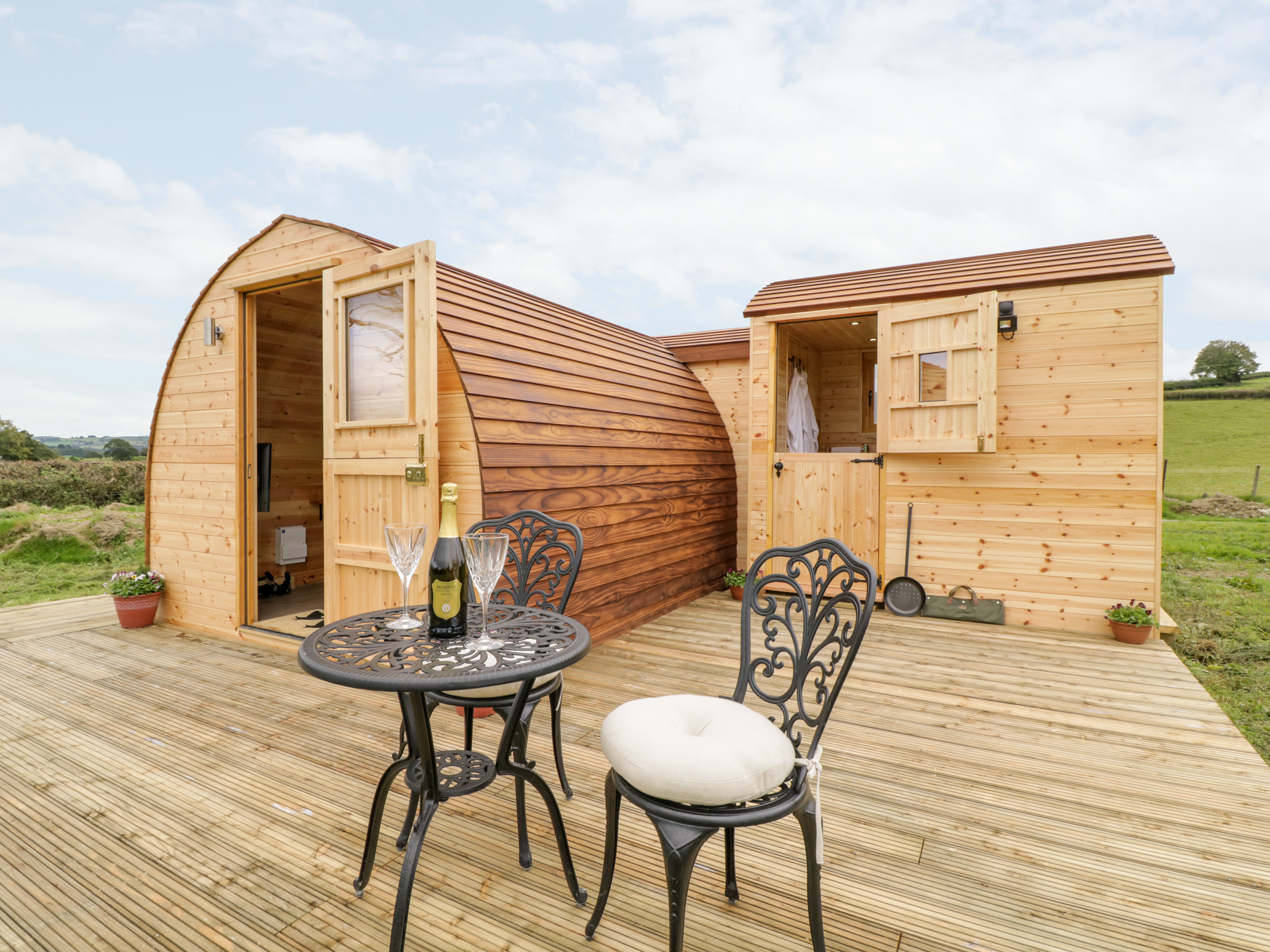 Embden Pod at Banwy Glamping, Mid Wales